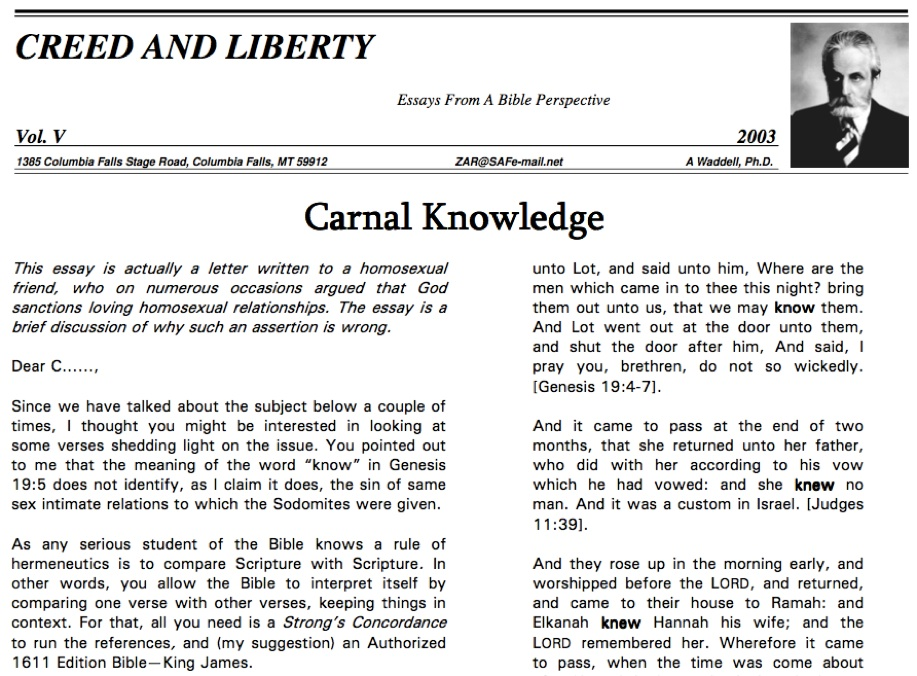 essay on what liberty means